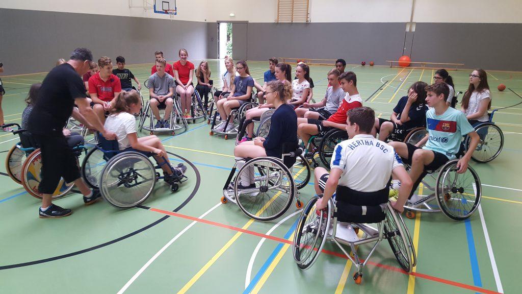 Schulprojekt Rollstuhlsport